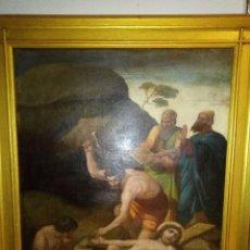Arte: MAGNÍFICO ÓLEO RELIGIOSO DEL SIGLO XVIII- XIX. Lote 220838410