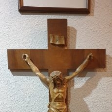 Art: CRUCIFIJO DE PARED.. Lote 221264571