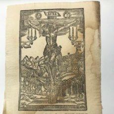 Arte: IMAGEN DEL SMO CHRISTO DE BALAGUER, VENERADA EN SU SANTUARIO Y HOSPITAL. Lote 221272801