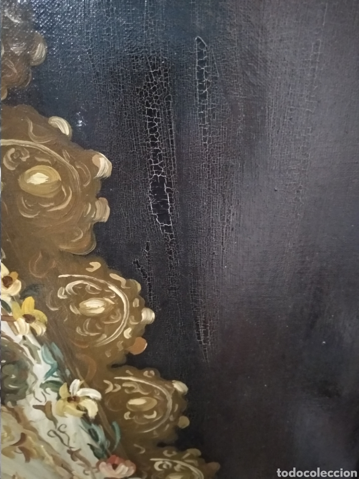Arte: Fabuloso óleo Virgen del Rocio - Foto 4 - 221508142