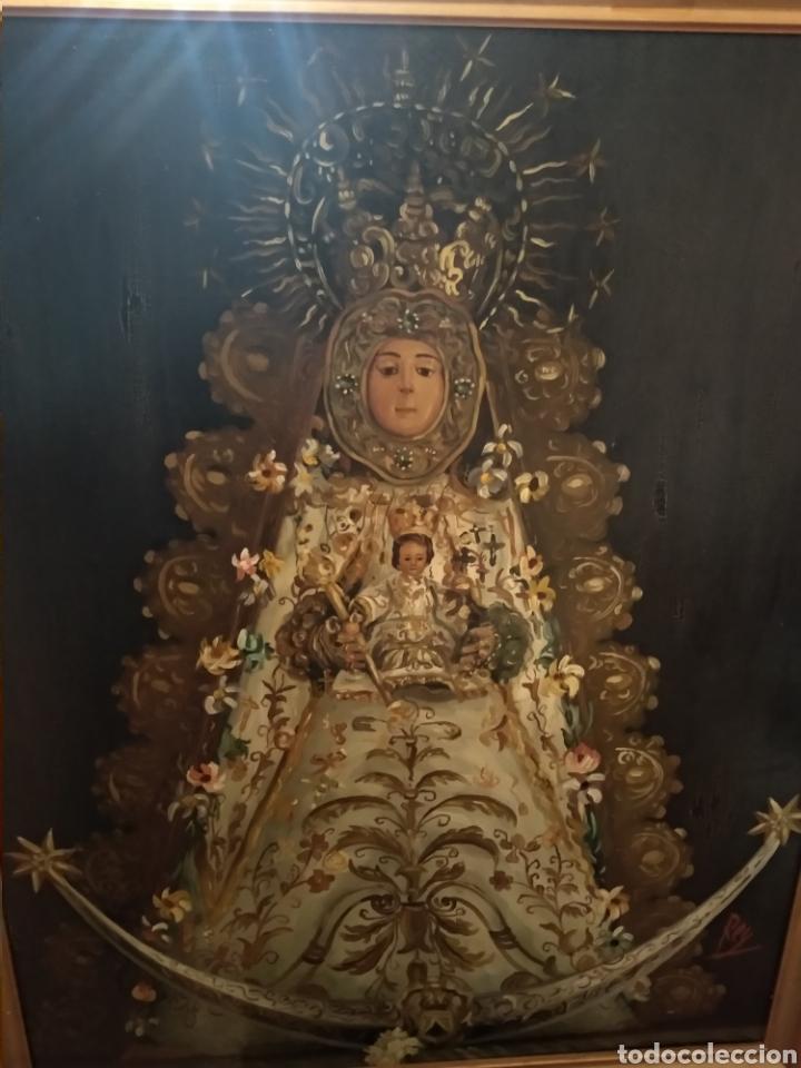 Arte: Fabuloso óleo Virgen del Rocio - Foto 6 - 221508142