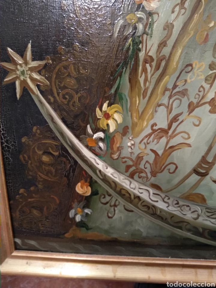 Arte: Fabuloso óleo Virgen del Rocio - Foto 7 - 221508142