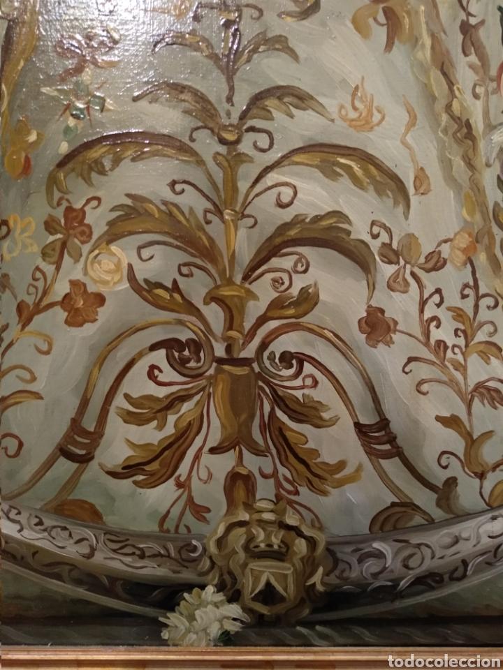 Arte: Fabuloso óleo Virgen del Rocio - Foto 8 - 221508142