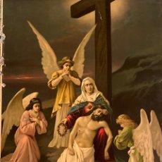 Art: LITOGRAFÍA KFZ PRINTED IN SWITZERLAND LA PIEDAD. Lote 221509500