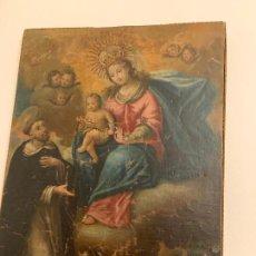Art: CUADRO RELIGIOSO ANTIGUO SIGLO XVIII. Lote 221695277