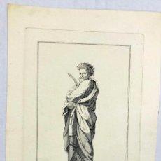 Arte: GRABADO RELIGIOSO S. BARTHOLOME SUBIO A LOS CIELOS. RAPHAEL URB. PINT. SIGLO XVIII. Lote 221892810