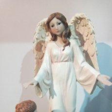 Arte: ANGEL DE LA GUARDA.BONITA FIGURA.. Lote 222049506
