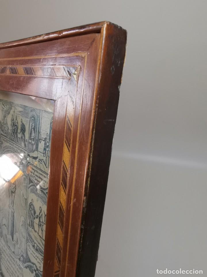 Arte: GRABADO ORIGINAL exvoto curacion virgen del pilar sucedio en calanda año 1640-ALCAÑIZ-SIGLO XIX - Foto 13 - 222052731