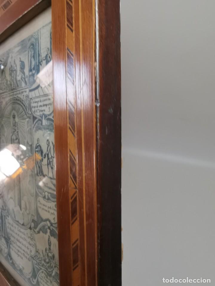 Arte: GRABADO ORIGINAL exvoto curacion virgen del pilar sucedio en calanda año 1640-ALCAÑIZ-SIGLO XIX - Foto 14 - 222052731