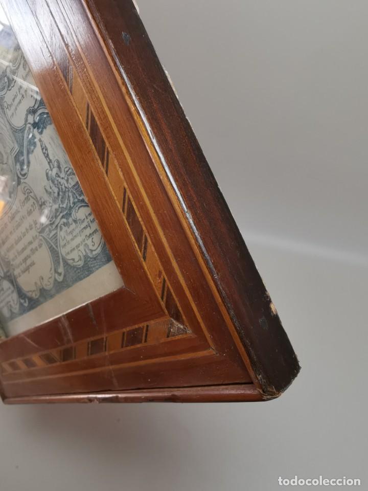 Arte: GRABADO ORIGINAL exvoto curacion virgen del pilar sucedio en calanda año 1640-ALCAÑIZ-SIGLO XIX - Foto 15 - 222052731