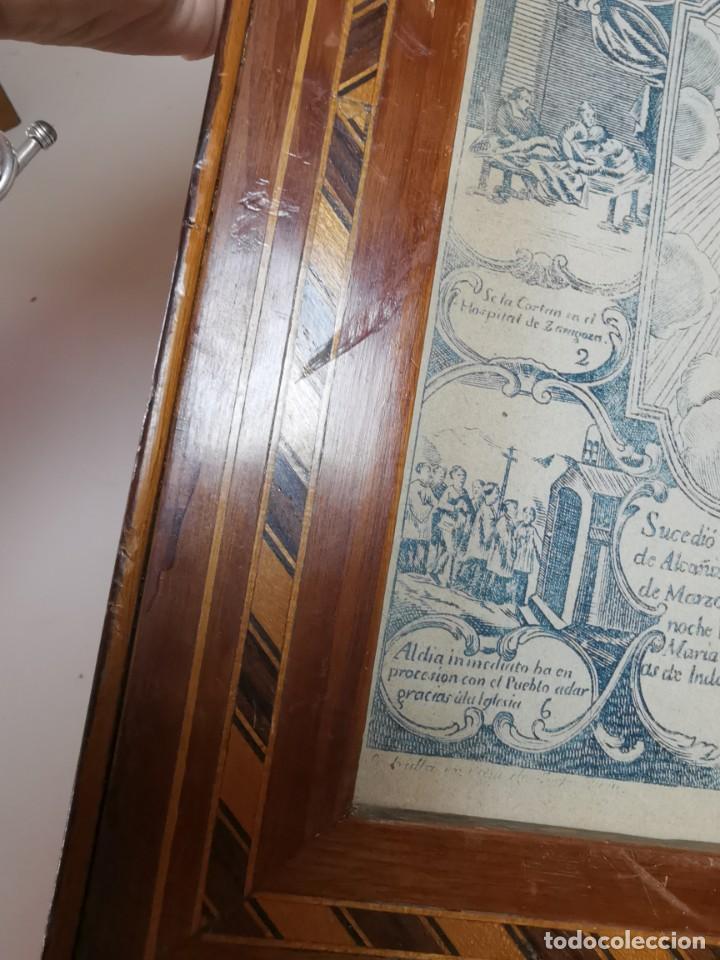 Arte: GRABADO ORIGINAL exvoto curacion virgen del pilar sucedio en calanda año 1640-ALCAÑIZ-SIGLO XIX - Foto 16 - 222052731