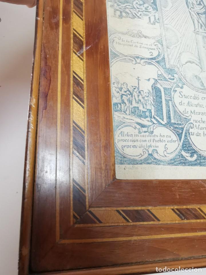Arte: GRABADO ORIGINAL exvoto curacion virgen del pilar sucedio en calanda año 1640-ALCAÑIZ-SIGLO XIX - Foto 17 - 222052731