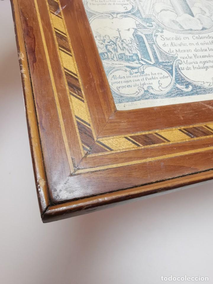 Arte: GRABADO ORIGINAL exvoto curacion virgen del pilar sucedio en calanda año 1640-ALCAÑIZ-SIGLO XIX - Foto 18 - 222052731