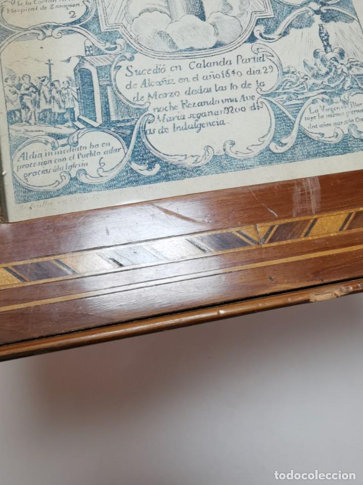Arte: GRABADO ORIGINAL exvoto curacion virgen del pilar sucedio en calanda año 1640-ALCAÑIZ-SIGLO XIX - Foto 19 - 222052731