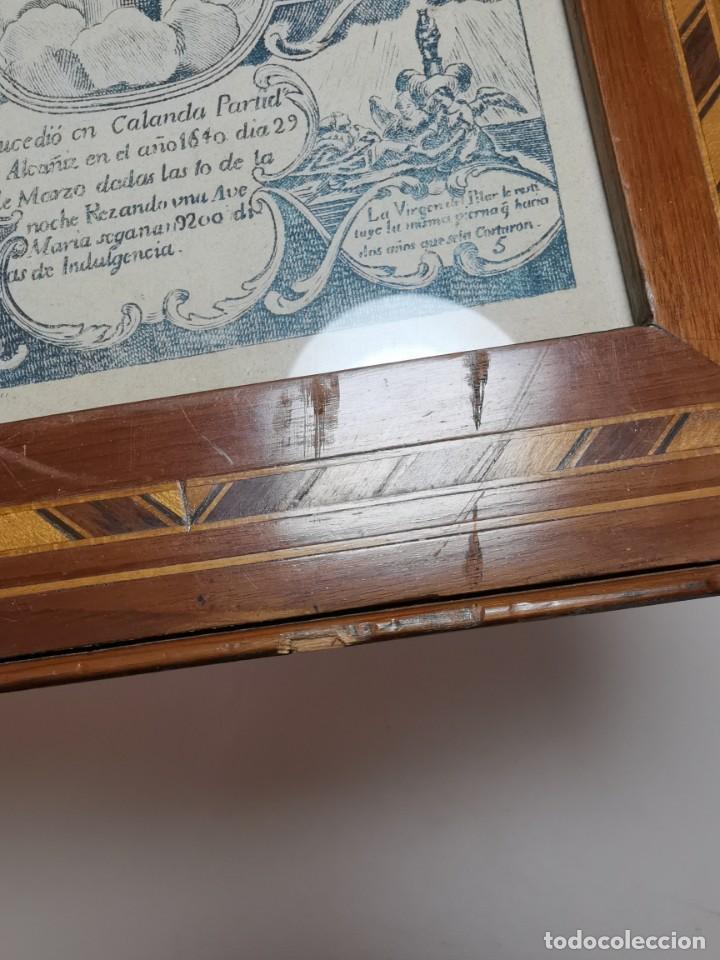 Arte: GRABADO ORIGINAL exvoto curacion virgen del pilar sucedio en calanda año 1640-ALCAÑIZ-SIGLO XIX - Foto 20 - 222052731