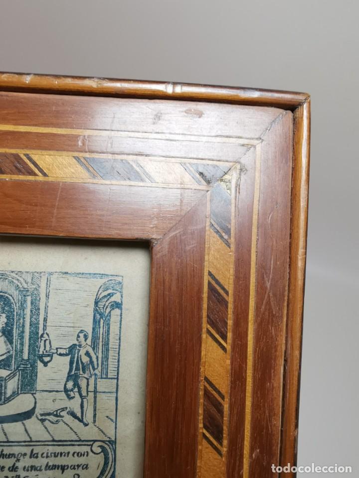 Arte: GRABADO ORIGINAL exvoto curacion virgen del pilar sucedio en calanda año 1640-ALCAÑIZ-SIGLO XIX - Foto 29 - 222052731