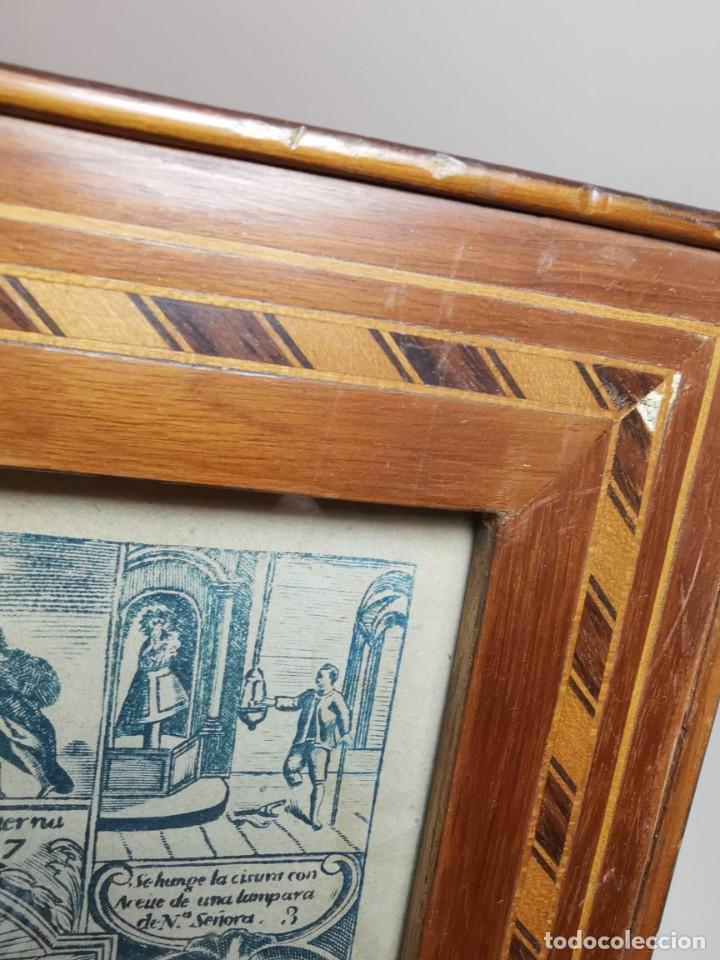 Arte: GRABADO ORIGINAL exvoto curacion virgen del pilar sucedio en calanda año 1640-ALCAÑIZ-SIGLO XIX - Foto 30 - 222052731