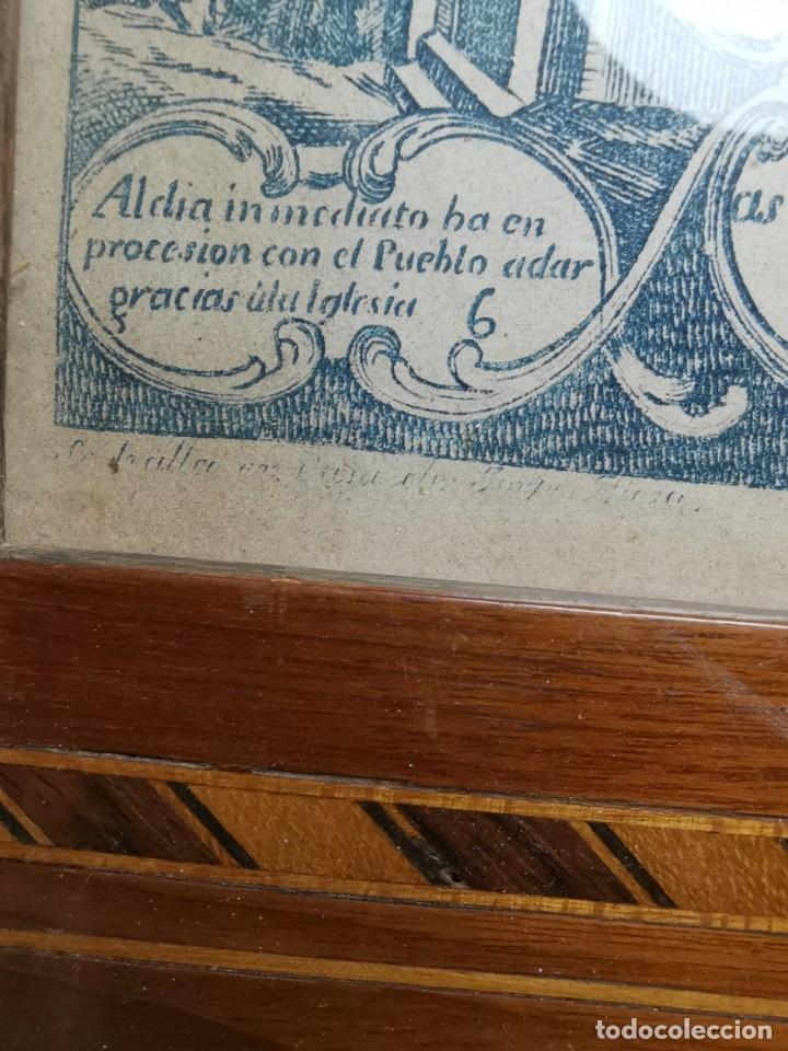 Arte: GRABADO ORIGINAL exvoto curacion virgen del pilar sucedio en calanda año 1640-ALCAÑIZ-SIGLO XIX - Foto 33 - 222052731