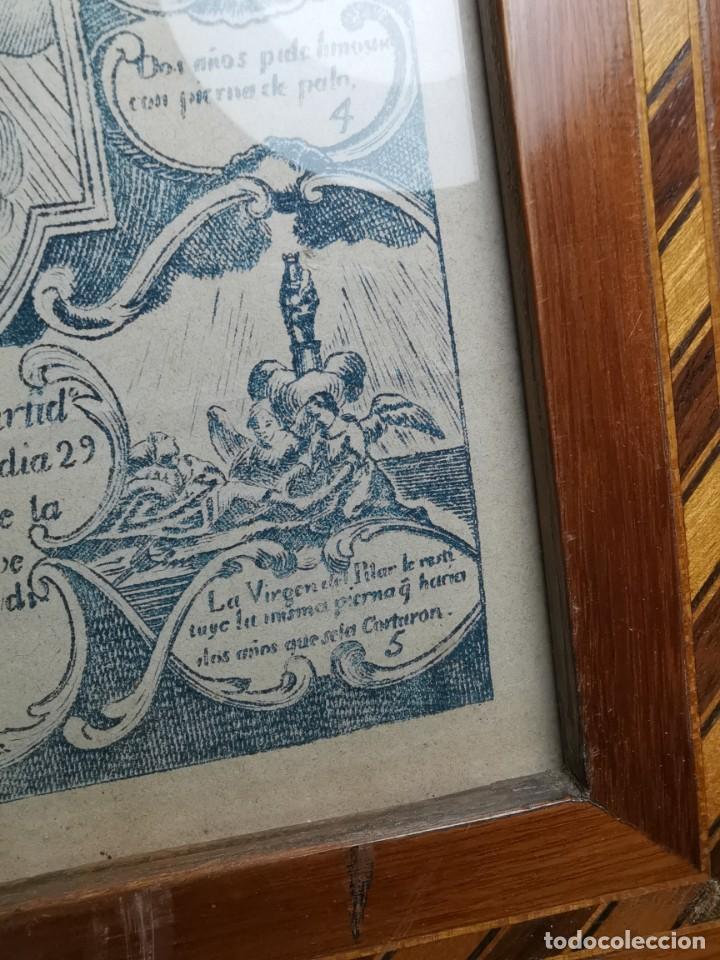Arte: GRABADO ORIGINAL exvoto curacion virgen del pilar sucedio en calanda año 1640-ALCAÑIZ-SIGLO XIX - Foto 37 - 222052731