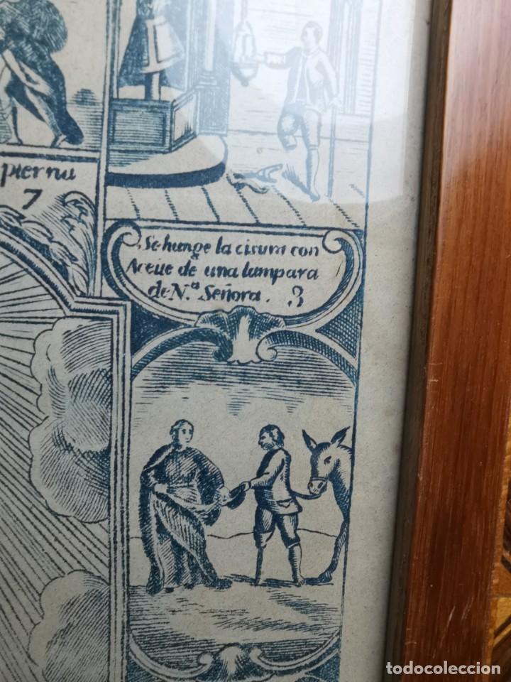 Arte: GRABADO ORIGINAL exvoto curacion virgen del pilar sucedio en calanda año 1640-ALCAÑIZ-SIGLO XIX - Foto 38 - 222052731