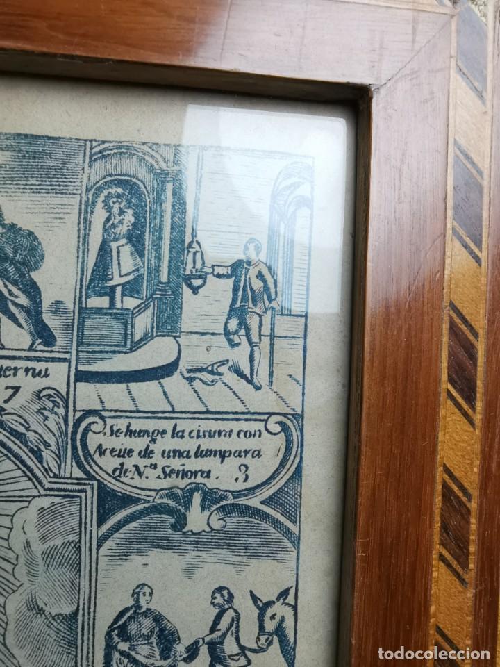Arte: GRABADO ORIGINAL exvoto curacion virgen del pilar sucedio en calanda año 1640-ALCAÑIZ-SIGLO XIX - Foto 39 - 222052731