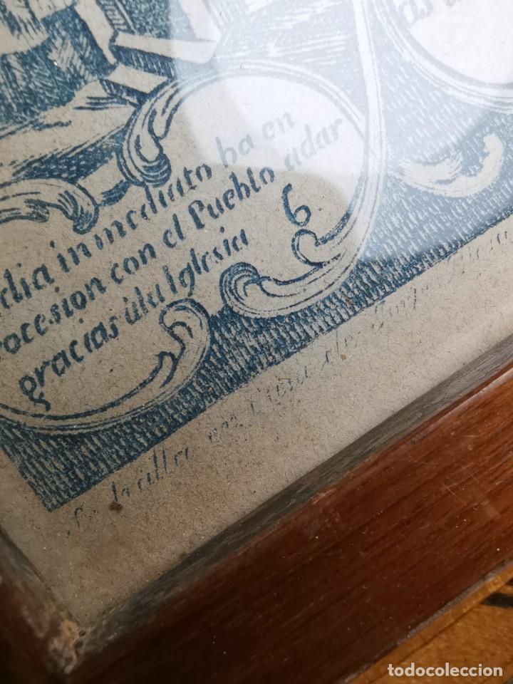 Arte: GRABADO ORIGINAL exvoto curacion virgen del pilar sucedio en calanda año 1640-ALCAÑIZ-SIGLO XIX - Foto 43 - 222052731
