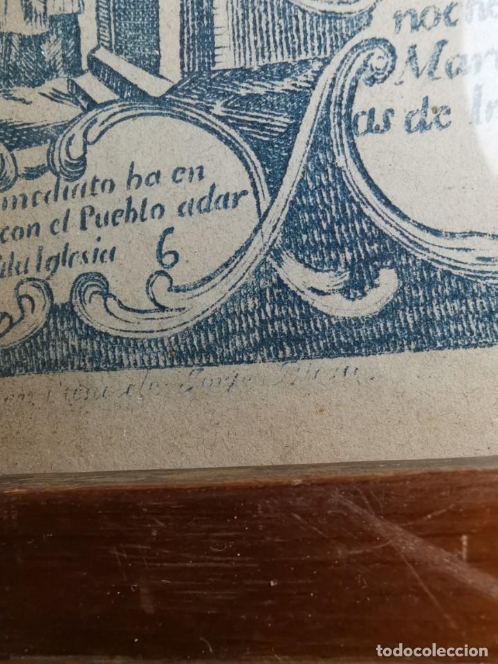 Arte: GRABADO ORIGINAL exvoto curacion virgen del pilar sucedio en calanda año 1640-ALCAÑIZ-SIGLO XIX - Foto 44 - 222052731
