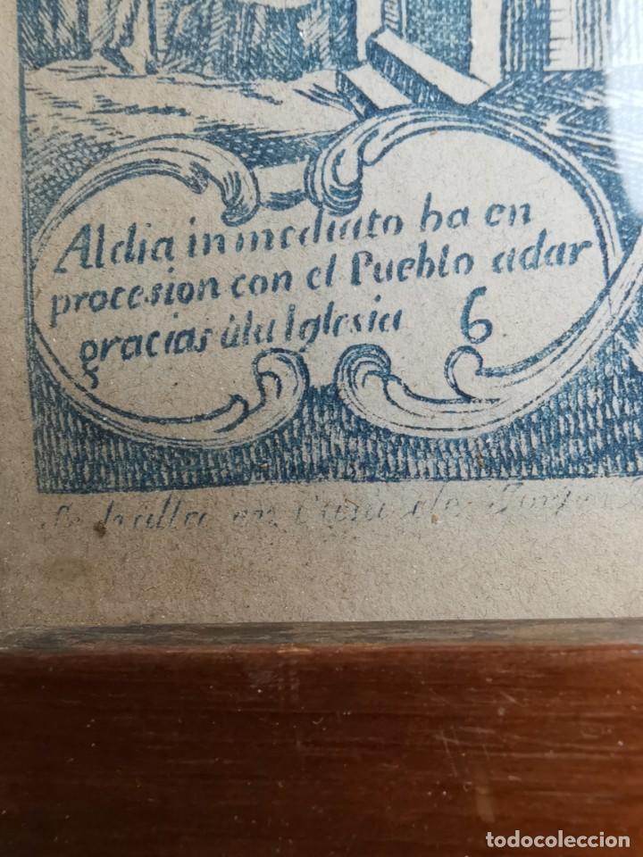 Arte: GRABADO ORIGINAL exvoto curacion virgen del pilar sucedio en calanda año 1640-ALCAÑIZ-SIGLO XIX - Foto 45 - 222052731