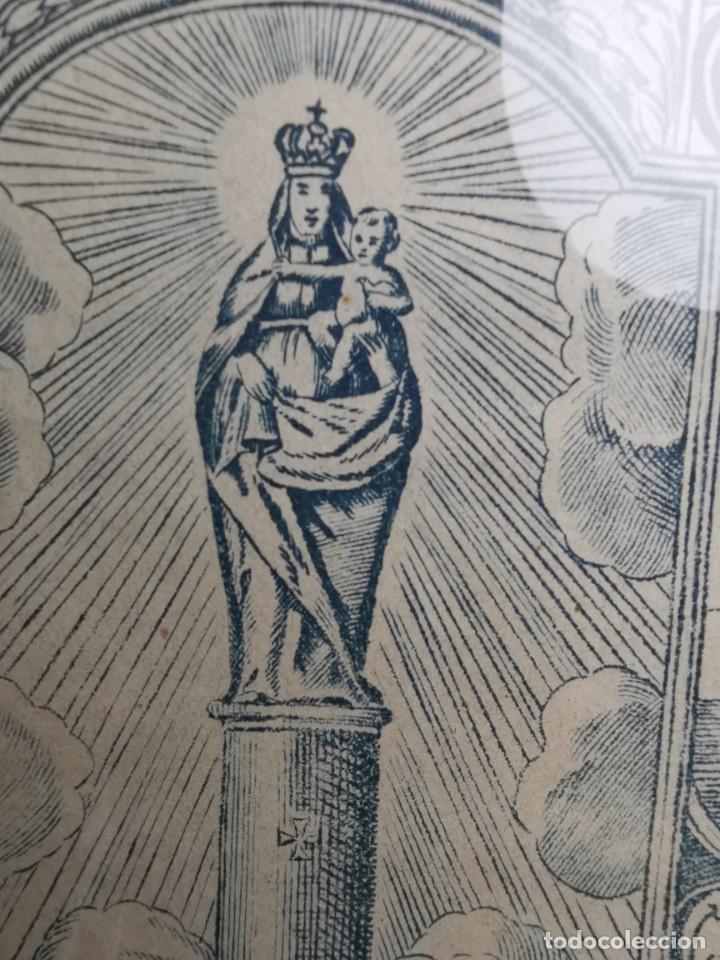 Arte: GRABADO ORIGINAL exvoto curacion virgen del pilar sucedio en calanda año 1640-ALCAÑIZ-SIGLO XIX - Foto 48 - 222052731