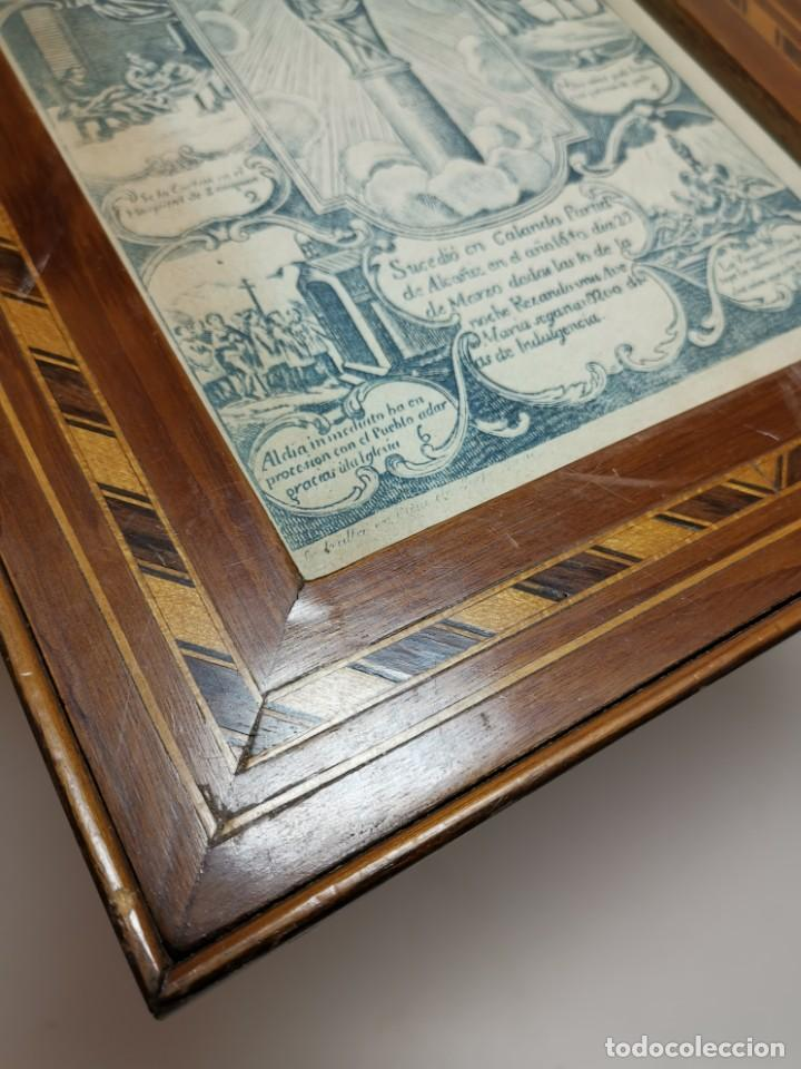 Arte: GRABADO ORIGINAL exvoto curacion virgen del pilar sucedio en calanda año 1640-ALCAÑIZ-SIGLO XIX - Foto 54 - 222052731