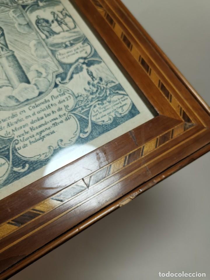 Arte: GRABADO ORIGINAL exvoto curacion virgen del pilar sucedio en calanda año 1640-ALCAÑIZ-SIGLO XIX - Foto 55 - 222052731