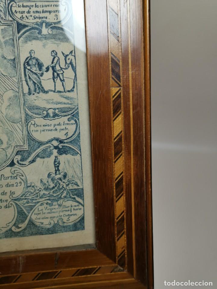 Arte: GRABADO ORIGINAL exvoto curacion virgen del pilar sucedio en calanda año 1640-ALCAÑIZ-SIGLO XIX - Foto 56 - 222052731