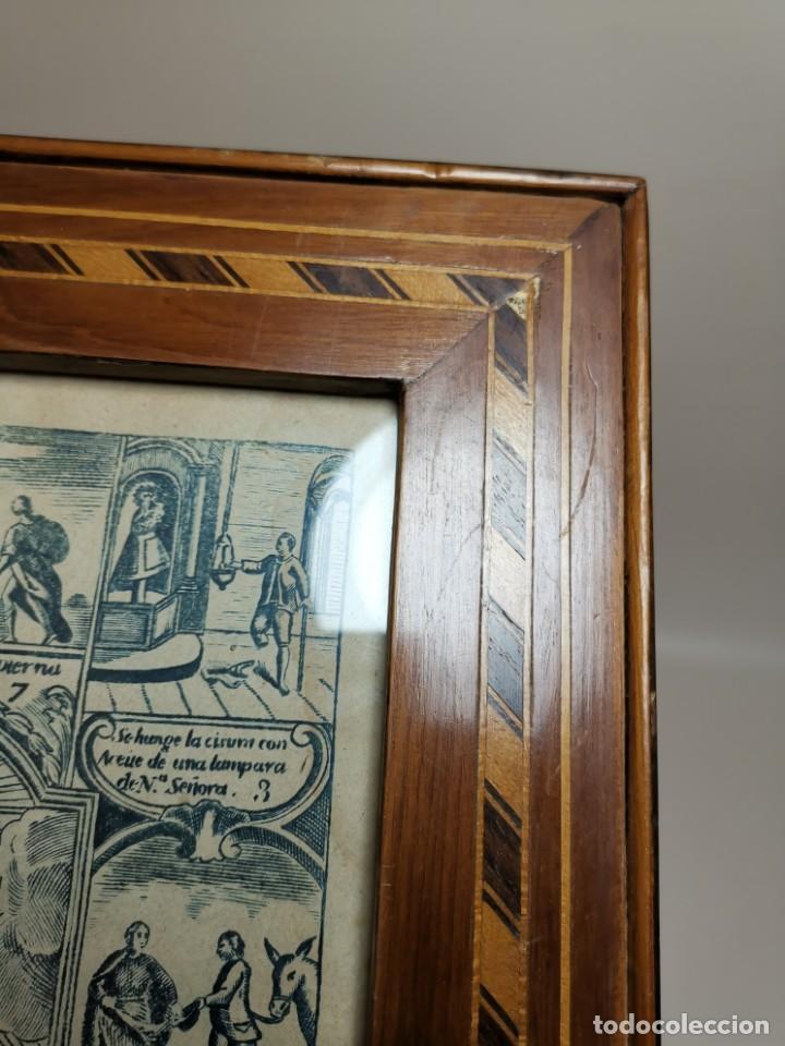 Arte: GRABADO ORIGINAL exvoto curacion virgen del pilar sucedio en calanda año 1640-ALCAÑIZ-SIGLO XIX - Foto 57 - 222052731