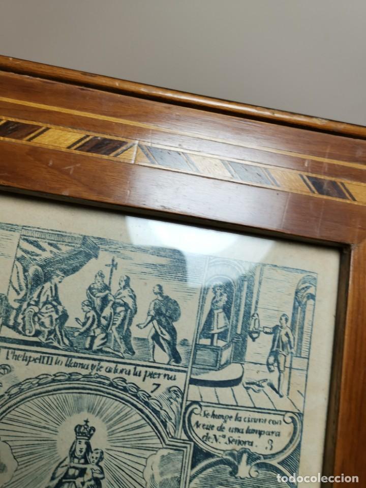 Arte: GRABADO ORIGINAL exvoto curacion virgen del pilar sucedio en calanda año 1640-ALCAÑIZ-SIGLO XIX - Foto 58 - 222052731