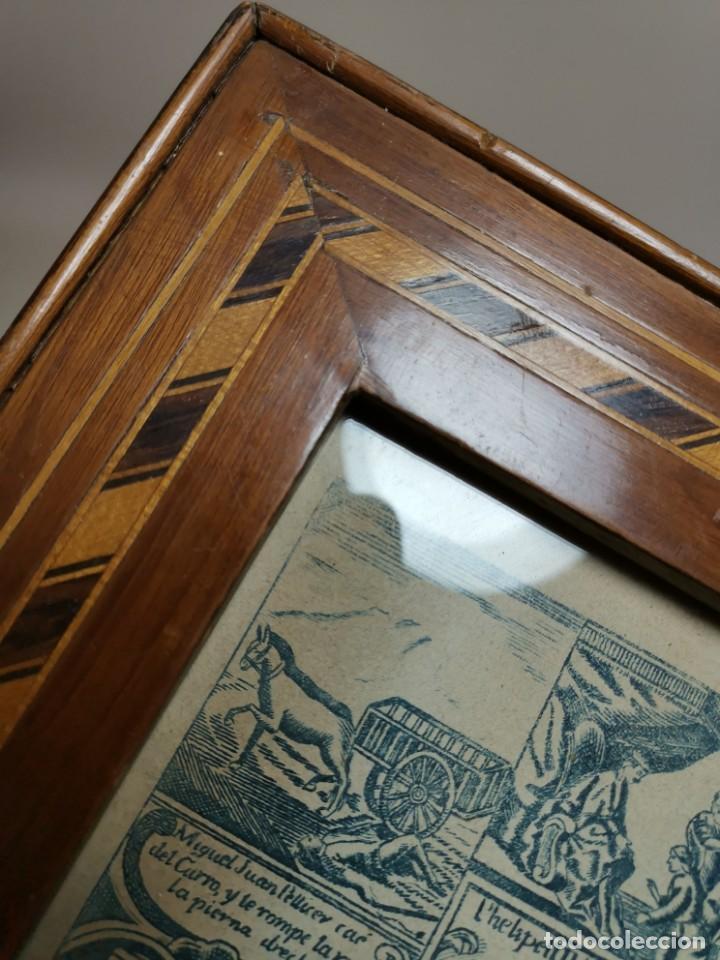 Arte: GRABADO ORIGINAL exvoto curacion virgen del pilar sucedio en calanda año 1640-ALCAÑIZ-SIGLO XIX - Foto 59 - 222052731