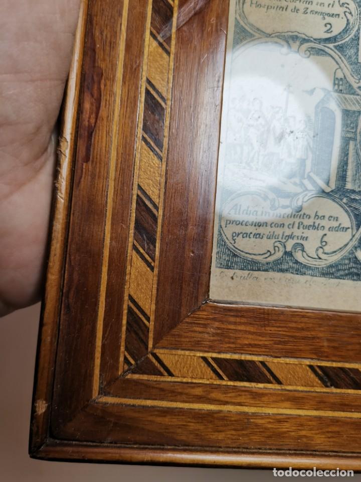 Arte: GRABADO ORIGINAL exvoto curacion virgen del pilar sucedio en calanda año 1640-ALCAÑIZ-SIGLO XIX - Foto 60 - 222052731