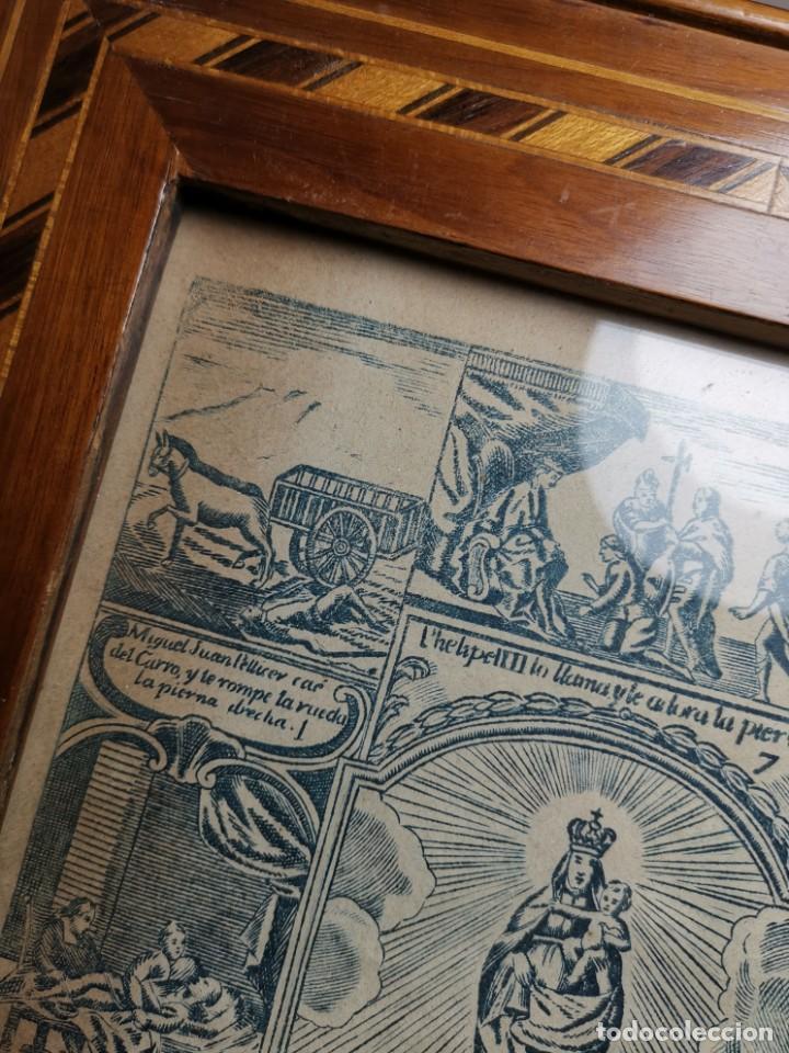 Arte: GRABADO ORIGINAL exvoto curacion virgen del pilar sucedio en calanda año 1640-ALCAÑIZ-SIGLO XIX - Foto 63 - 222052731