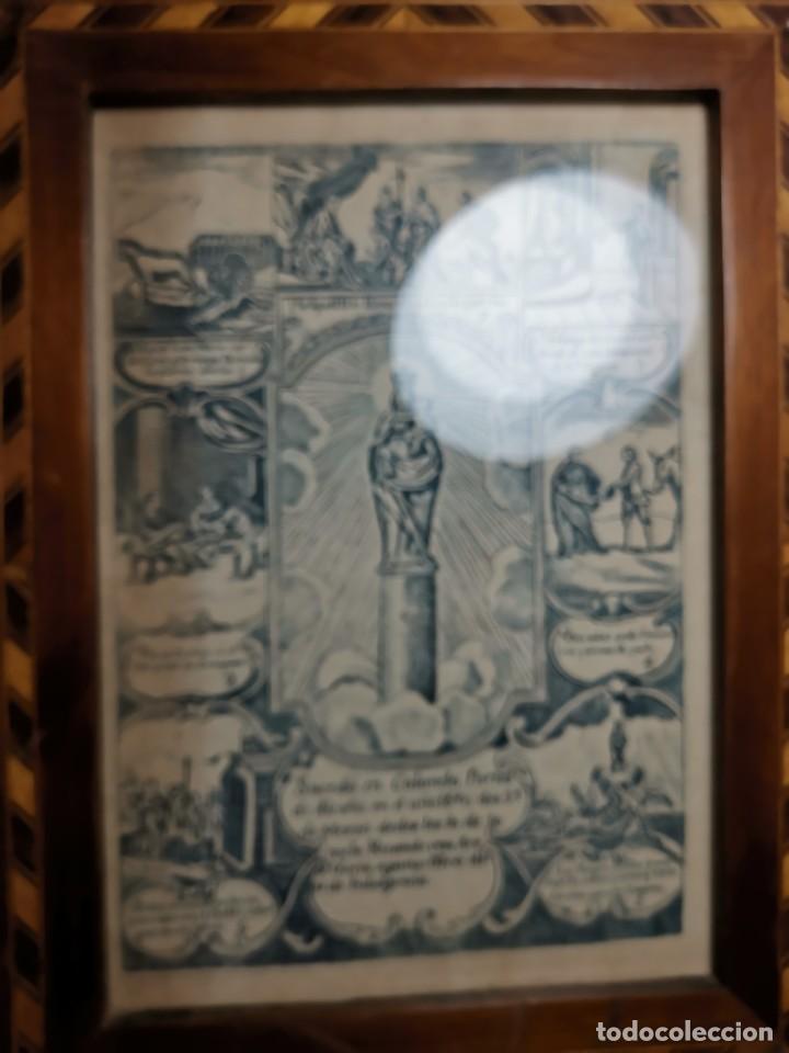 Arte: GRABADO ORIGINAL exvoto curacion virgen del pilar sucedio en calanda año 1640-ALCAÑIZ-SIGLO XIX - Foto 65 - 222052731