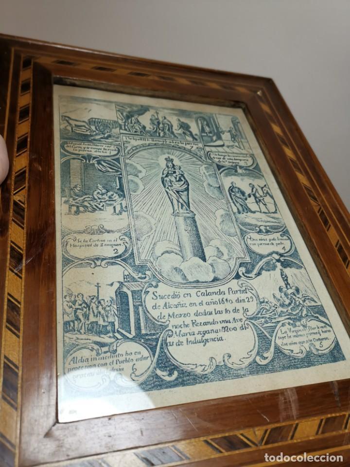 Arte: GRABADO ORIGINAL exvoto curacion virgen del pilar sucedio en calanda año 1640-ALCAÑIZ-SIGLO XIX - Foto 67 - 222052731