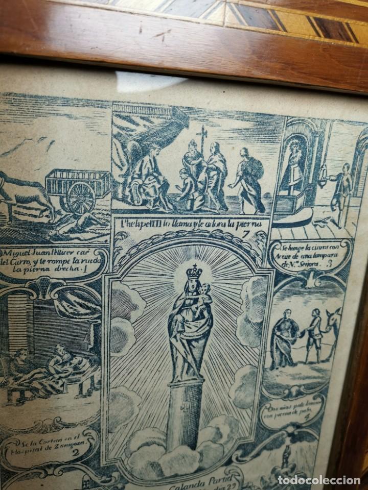 Arte: GRABADO ORIGINAL exvoto curacion virgen del pilar sucedio en calanda año 1640-ALCAÑIZ-SIGLO XIX - Foto 69 - 222052731