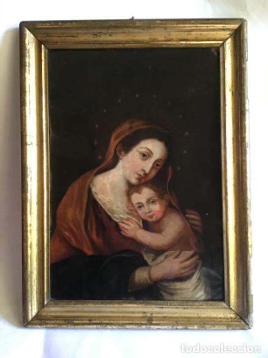 Arte: ANTIGUA PINTURA SIGLO XVIII , OLEO SOBRE METAL - COBRE , - Foto 12 - 222705260