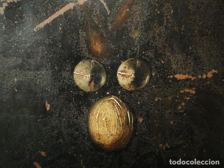 Arte: Cristo de Burgos o de las Enagüillas. Óleo/Cobre. Mide 60 x 47 cm. Círculo de Mateo Cerezo. - Foto 7 - 222829735