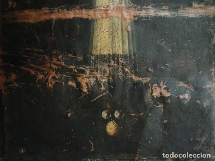 Arte: Cristo de Burgos o de las Enagüillas. Óleo/Cobre. Mide 60 x 47 cm. Círculo de Mateo Cerezo. - Foto 11 - 222829735