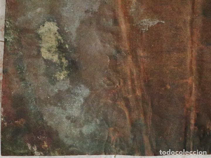 Arte: Cristo de Burgos o de las Enagüillas. Óleo/Cobre. Mide 60 x 47 cm. Círculo de Mateo Cerezo. - Foto 14 - 222829735