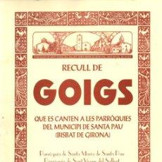Arte: RECULL DE 18 GOIGS DE SANTA PAU (GIRONA) (2001). Lote 222956020