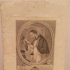 Arte: EFIGIE VENERADA DEL BEATO JOSEF ORIOL POR JOSEP COROMINA (1756-1834).. Lote 222989572
