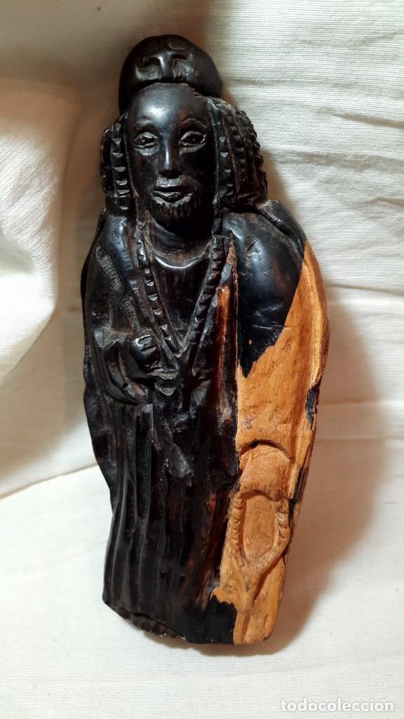 ANTIGUA TALLA DE VIRGEN (Arte - Arte Religioso - Escultura)