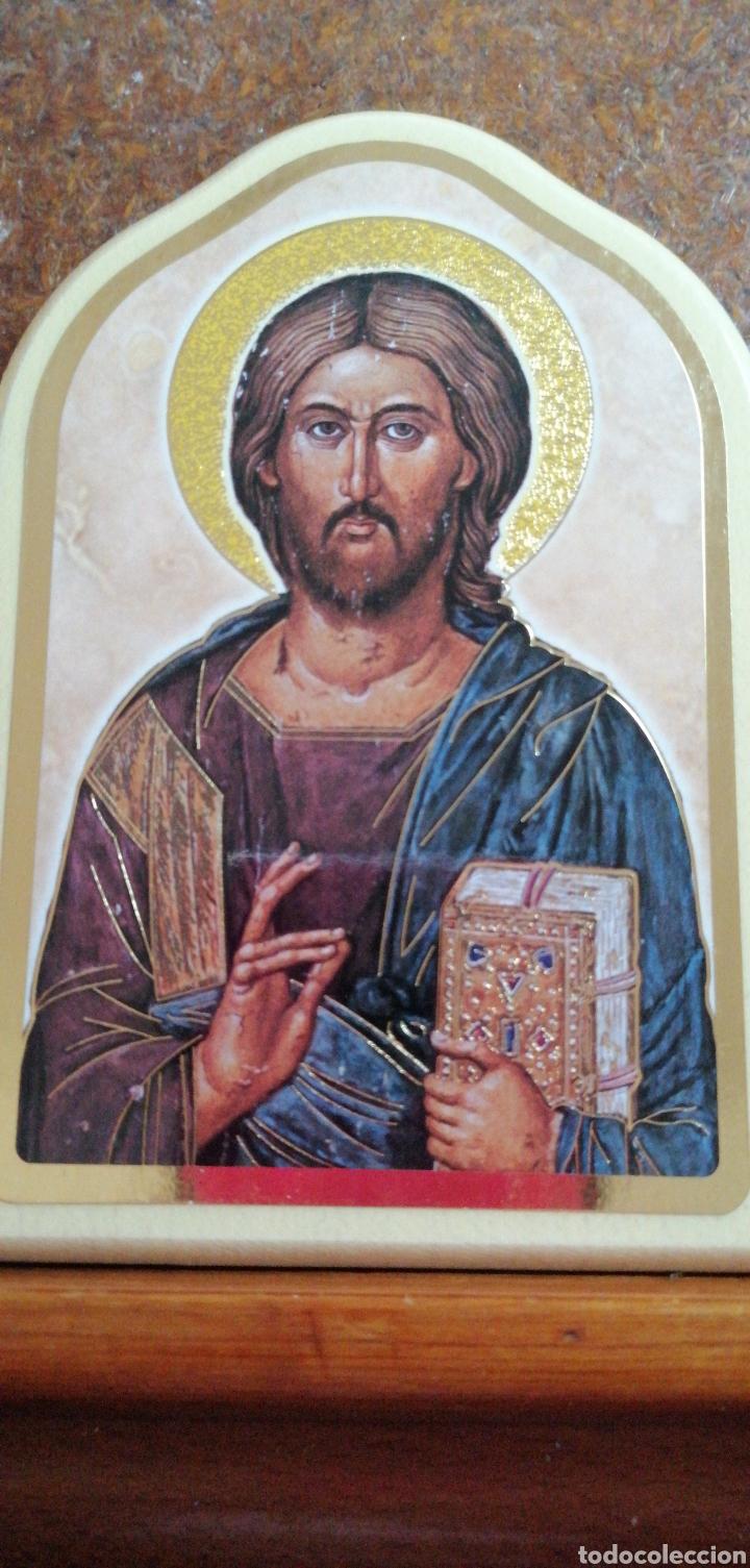 Arte: RETABLO DE CRISTO CON SUS ÁNGELES FABRICADO EN ITALIA - Foto 2 - 223776426