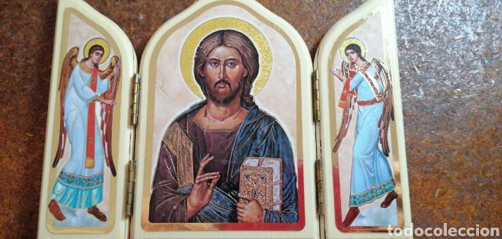 Arte: RETABLO DE CRISTO CON SUS ÁNGELES FABRICADO EN ITALIA - Foto 5 - 223776426