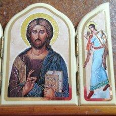 Arte: RETABLO DE CRISTO CON SUS ÁNGELES FABRICADO EN ITALIA. Lote 223776426